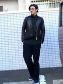 masayukiさんの(BEAUTY&YOUTH UNITED ARROWS|アイディーデイリーウェア)を使ったコーディネート