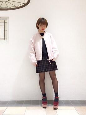 merry jenny 梅田エスト店|松岡 美樹さんの(merry jenny|メリージェニー)を使ったコーディネート