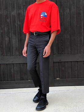 """Gringin is wearing RAF SIMONS """"Raf Simons + Adidas Originals Detroit Canvas, Rubber And Mesh Sneakers"""""""