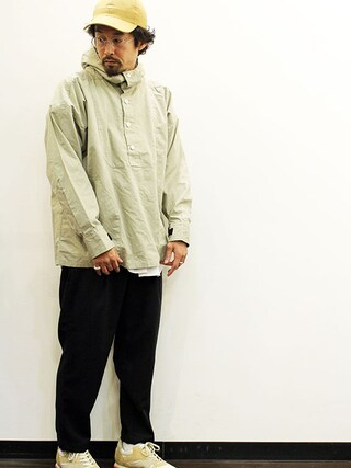 """twothings&thinkさんの「ink (インク) Fake Suede Low Cap """" DAILY """"(ink インク)」を使ったコーディネート"""