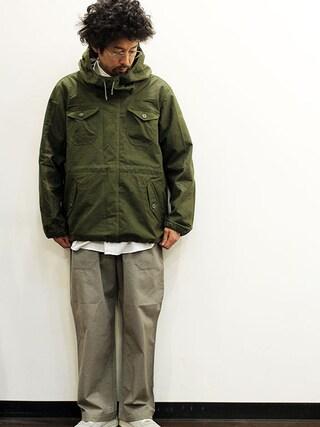 """twothings&thinkさんの「ink (インク) Poland Tent Smock Parker """" FROG """"(ink インク)」を使ったコーディネート"""