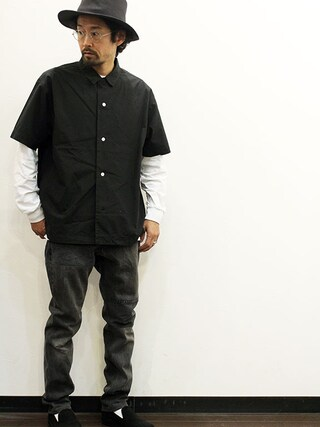 """twothings&thinkさんの「ink (インク) 505 Denim Pants """" THE CLASH """"(ink インク)」を使ったコーディネート"""