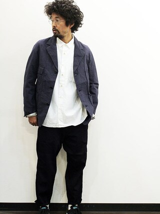"""twothings&thinkさんの「Ordinary fits (オーディナリーフィッツ) """" ANVY PANTS """" denim(Ordinary fits オーディナリーフィッツ)」を使ったコーディネート"""
