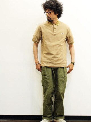 """twothings&thinkさんの「THE FABRIC (ザ・ファブリック) """" TIGER POLO SHIRTS """"(THE FABRIC)」を使ったコーディネート"""