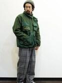 "twothings&thinkさんの「COMFORTABLE REASON (コンフォータブルリーズン) "" Fisherman's warm jacket ""」を使ったコーディネート"