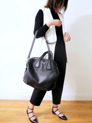 「Givenchy 'Medium Nightingale' Calfskin Leather Satchel(Givenchy)」 using this heatherzhy looks
