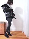 「Acne Studios Velocite Leather Jacket(Acne Studios)」 using this heatherzhy looks