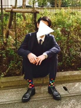Kazuさんの(PAUL STUART|ポールスチュアート)を使ったコーディネート