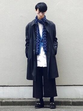 Kazuさんの(Yohji Yamamoto D'URBAN A.A.R)を使ったコーディネート