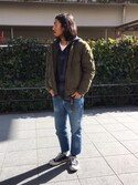「Levi's Made & Crafted Needle Narrow Slim-Fit Stretch-Denim Jeans(Levi's)」 using this naoto630 looks