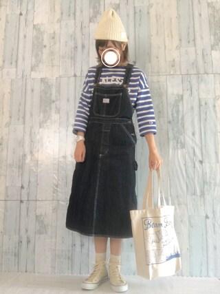 aki*さんの「CONVERSE ALL STAR ハイカットスニーカー(CONVERSE|コンバース)」を使ったコーディネート