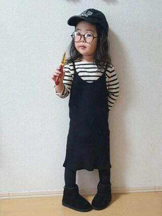 miiiiiri*さんの「ボアショートブーツ(14~20cm)(HOGAN RANCH WEAR|ホーガンランチウエア)」を使ったコーディネート