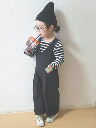 miiiiiri*さんの「CONVERSE:CHILD ALL STAR RZ OX(CONVERSE|コンバース)」を使ったコーディネート