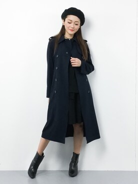 ZOZOTOWN|三上玲奈さんの(Traditional Weatherwear|トラディショナルウェザーウェア)を使ったコーディネート