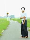 KAZUHAさんの(YAECA ヤエカ)を使ったコーディネート