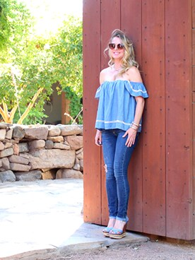 「rag & bone/JEAN The Distressed Skinny Jeans/ La Paz(rag & bone)」 using this Erin looks