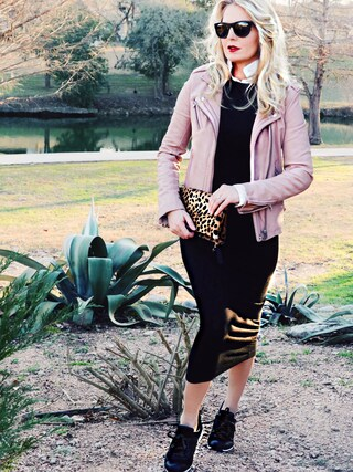 「Clare V. Leopard-Print Fold-Over Clutch Bag(CLARE VIVIER)」 using this Erin looks