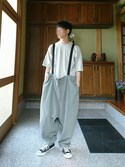 Yさんの「【my beautiful landlet】   cashmere wool big pants(my beautiful landlet)」を使ったコーディネート