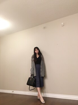 「FOREVER 21 wide neck sweater(FOREVER 21)」 using this Charlotteee looks