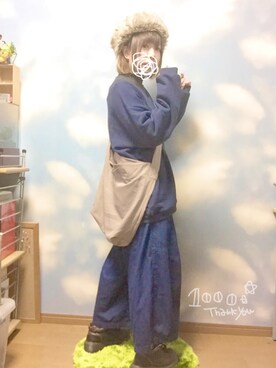 じんちゃんさんの(CHIHIRO YASUDA|チヒロヤスダ)を使ったコーディネート