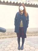 miki**さんの「WOMEN ウルトラライトダウンジャケット(ユニクロ|ユニクロ)」を使ったコーディネート