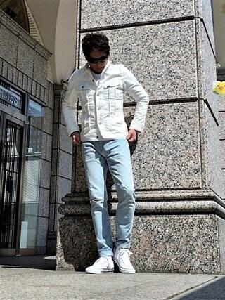 イーサン・ハント🕶さんの「LEE/別注101J Jacket(Lee|リー)」を使ったコーディネート