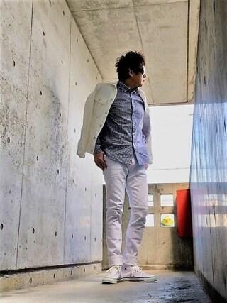 イーサン・ハント🕶さんの「LEE/別注101J Jacket(Lee リー)」を使ったコーディネート