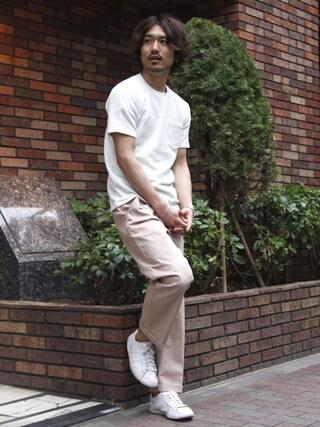J.FERRY|J.FERRYさんの「ツイルワイドパンツ(MAISON TOKYO|メゾントウキョウ)」を使ったコーディネート