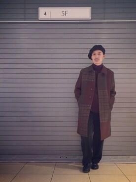 UNITED TOKYO MENS SHINJUKU UNITED TOKYO 山本 健斗さんのコーディネート