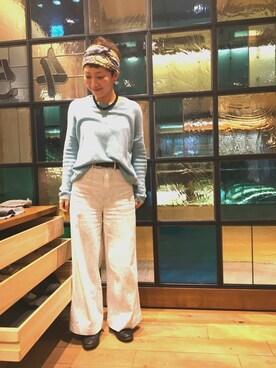 45R 東京ミッドタウン店|nakajiさんの(HERMES|エルメス)を使ったコーディネート