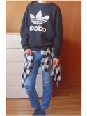 (adidas) using this 彩花 looks