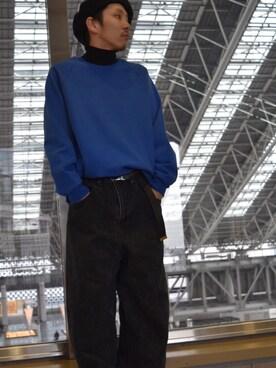 Lui's ルクア大阪店|S.FUJITANIさんの「BED J.W. FORD Locals.(BED J.W. FORD|ベッドフォード)」を使ったコーディネート