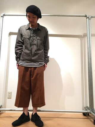Lui's ルクア大阪店|S.FUJITANIさんの(URU|ウル)を使ったコーディネート