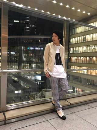 「ノーカラーブルゾン(Lui's)」 using this Lui's ルクア大阪店|S.FUJITANI looks