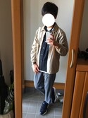 いけしゅんさんの「CASIO Analog Leather(CASIO|カシオ)」を使ったコーディネート