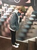 e☆イヤホン梅田EST店さんの「オリジナルス スタンスミス [STAN SMITH](adidas|アディダス)」を使ったコーディネート