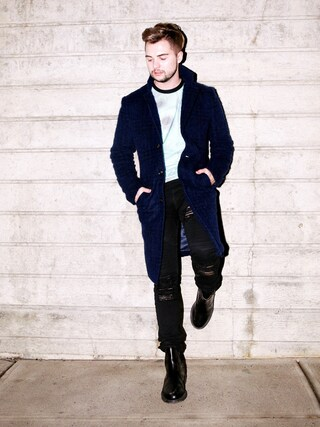 「Dr Martens 2976 Chelsea Boots(Dr. Martens)」 using this Ian Michael Crumm looks