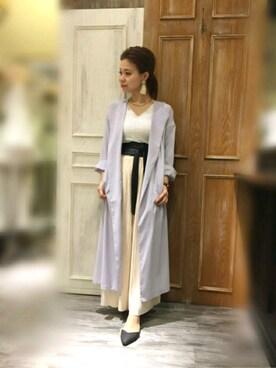 mysty woman 京都The CUBE店|中やんさんの(mysty woman|ミスティウーマン)を使ったコーディネート