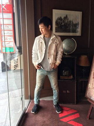 AVIREX 心斎橋 TAKAYUKIさんの(AVIREX アヴィレックス)を使ったコーディネート