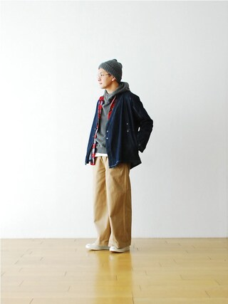 "WONDER MOUNTAIN|WONDERMOUNTAINさんの「Needles (ニードルズ) ""Samue Jacket - 6.5oz Denim"" ¥24,840-(Needles