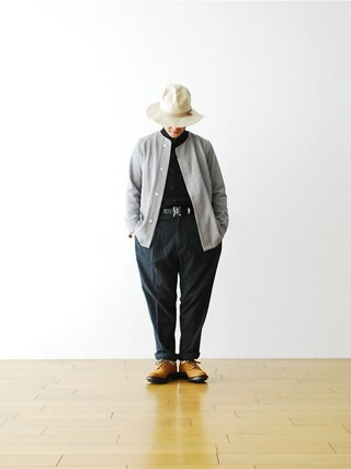 "WONDER MOUNTAIN|WONDERMOUNTAINさんの「Needles (ニードルズ) ""Crew Neck Shirt - T/Pe Voile"" ¥24,840-(Needles