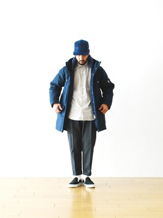 "WONDER MOUNTAIN|WONDERMOUNTAINさんの「nanamica(ナナミカ) ""Down Coat"" ¥91,800-(nanamica|ナナミカ)」を使ったコーディネート"