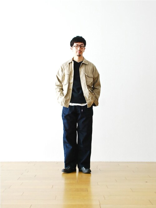 "WONDERMOUNTAINさんの「THE NORTH FACE PURPLE LABEL (ザ ノース フェイス パープルレーベル)  ""COOLMAX Stretch Twill Wide Pants(THE NORTH FACE PURPLE LABEL)」を使ったコーディネート"