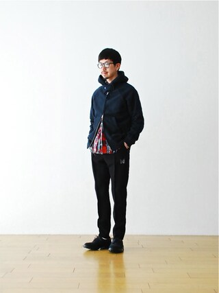 "WONDER MOUNTAIN|WONDERMOUNTAINさんの「Needles (ニードルズ)  ""Warm-up Pant - Double Cloth"" ¥16,200-(Needles