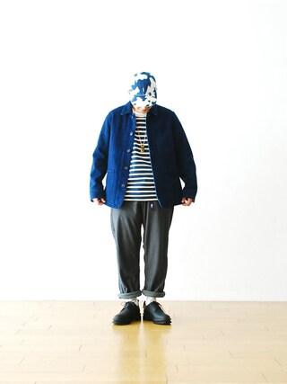 WONDER MOUNTAIN|WONDERMOUNTAINさんの(BLUE BLUE JAPAN|ブルーブルージャパン)を使ったコーディネート