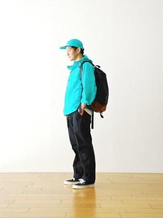 "WONDER MOUNTAIN|WONDERMOUNTAINさんの「Batten wear (バッテン ウェア)  ""Packable Anorak""  ¥33,480-(Battenwear|バテンウエア)」を使ったコーディネート"