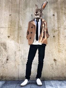 ウサ男さんの(MEN'S BIGI|メンズビギ)を使ったコーディネート