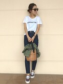 「26MARKET TRENDSETTING TEE◆(Deuxieme Classe)」 using this yurie looks
