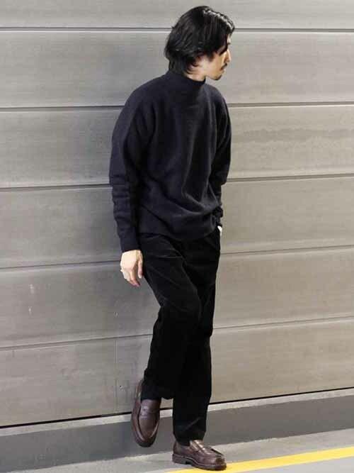 JOURNAL STANDARD 二子玉川店kameさんのニット/セーター「【YAK WOOL BLEND】 アッシュクニットタートルネック #(JOURNAL STANDARD|ジャーナルスタンダード)」を使ったコーディネート