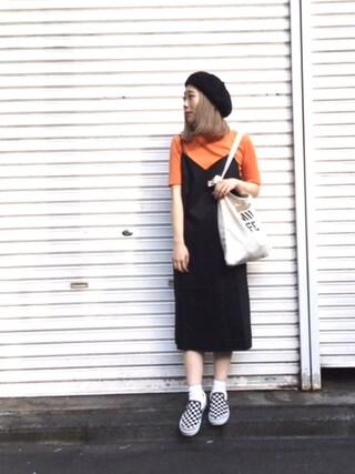 MILKFED. AT HEAVEN27ラフォーレ原宿|田代綾美さんの「HI-NECK TOP(MILKFED.|ミルクフェド)」を使ったコーディネート